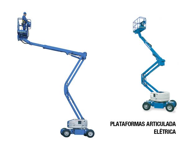 Lokan - Plataforma Elevatória – Articulada Elétrica