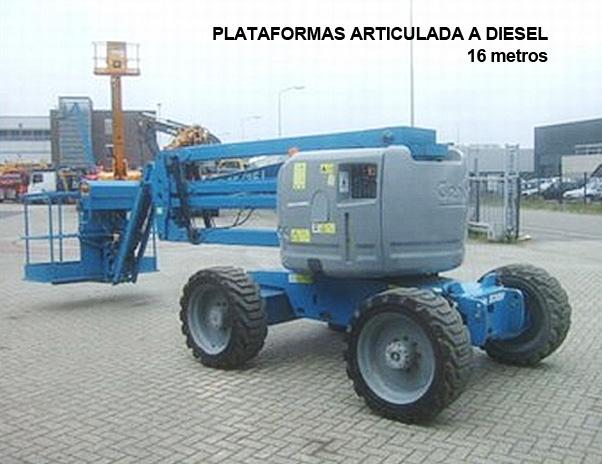 Lokan - Plataforma Elevatória – Articulada Diesel – 16 mt