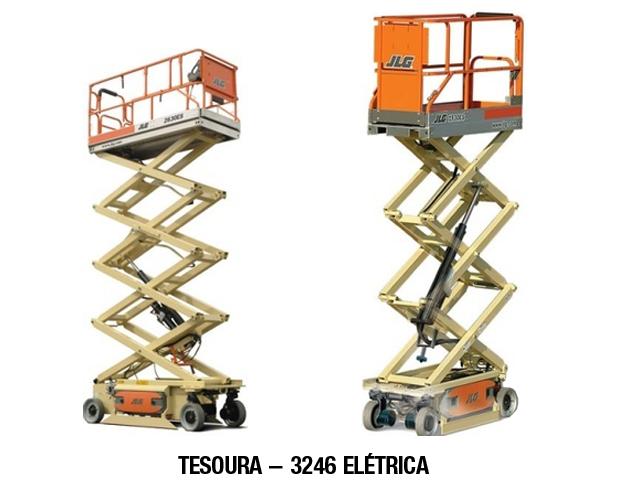 Lokan - Plataforma Elevatória – Tesoura Elétrica